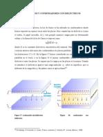 Ley de Gauss y Condensadores Con Dielectricos