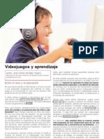 Videojuegos   Ocio y aprendizaje