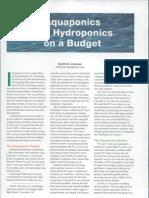 Hydro & Aqua Ponics