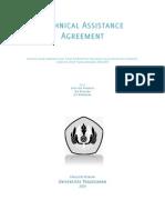 Hukum Alih Teknologi, Technical Assistance Agreement