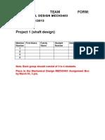 Team Form 2013 PDF
