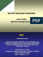 Motoneuron Diseases