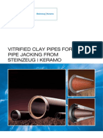 Vitrified Clay Pipes for Pipe Jacking