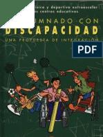 El alumnado con discapacidad, una propuesta de integración_MEC_1996