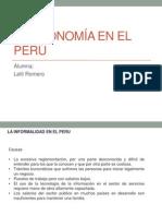 La Economía en el Perú