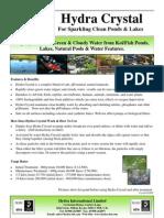 green algae treatment