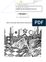 (eBook - Massoneria - ITA) - AA.vv. - Rituale Del Secondo Grado Simbolico Del Grande Oriente Scozzese d'Italia