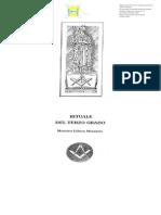 (eBook - Massoneria - ITA) - AA.vv. - Rituale Del Terzo Grado Simbolico Del Grande Oriente Scozzese d'Italia