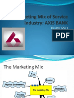 88900581 the Marketing Mix of Service Industry