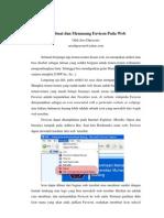 Membuat Dan Memasang Favicon Pada Web