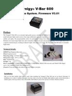 Tbar600 Manual