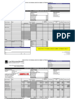 Architect Invoice Template