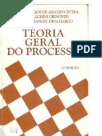 teoria geral do processo (2006) - ada pellegrini grinover, antônio carlos de araújo cintra & cândido rangel dinamarco