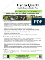 pond algae solutions