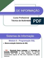 SISTEMAS DE INFORMAÇÃO SQL