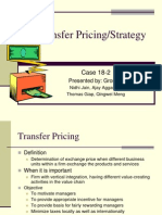 Transfer Pricing Technique