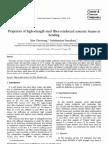 Properties of  Steel Fibre in Bending
