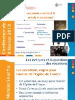Conference de Presse Sur Les Vocations 2013