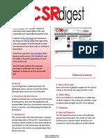 CSR Digest Editorial