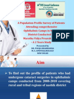 Dr. Pooja Kharbanda Ppt 64th DOS Annual Conference, Appreciation Award Paper