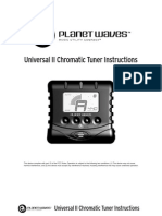 PWPK PW CT 09 Universal II Tuner Instructions ALL