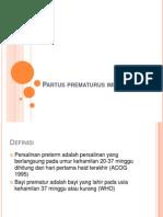 Partus prematurus iminen