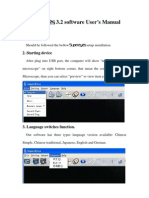 SUPEREYES 3.2 software User's Manual