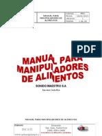 59298109 Manual Para Manipuladores de Alimentos