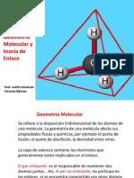 Unidad VII Geometría Molecular y teoría de Enlace c