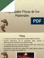 Propiedades Físicas de los Materiales