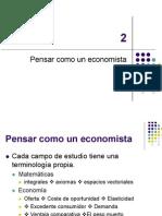 Como Piensa Un Economista