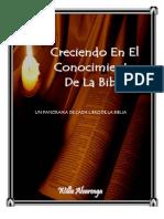 UN Panorama de Cada Libro de La Biblia