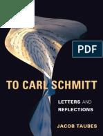 To Carl Schmitt