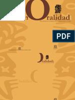 Anuario de Oralidad Unesco