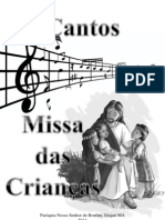 Cantos - Missa das Crianças