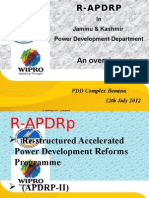 Presentation R-APDRP Extension Lecture 12th July 2012 Bemina