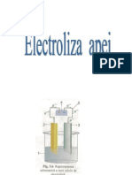 Electroliza Apei - Proiect ChimiePPt.