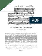 Seeking Mark Barenboim