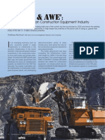 Article on 'Indian Construction Equipment Industry' by Chaitanya Raj Goyal