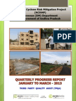 Quarterly Progress Report - Jan-March 2013