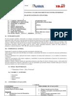 SILABUS MATEMATICA FINANCIERA
