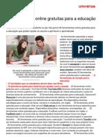 30 Ferramentas Online Gratuitas Educaco