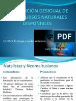 DISTRIBUCIÓN DESIGUAL DE LOS RECURSOS NATURALES.pptx