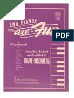Two Pianos Are Fun - David Hirschberg