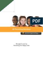 Parenting 40 to Do