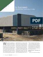 Article on 'Pre-Engineered Building (PEB) Industry in India' by Chaitanya Raj Goyal