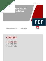 huawei Separate Mount Installation