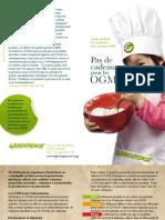 Guide de Noel Des Produits Avec Ou Sans Ogm