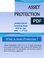 Asset Protection F