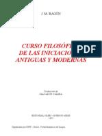 (1930) Jean Marie Ragón - Curso Filosofico de las iniciaciones.pdf